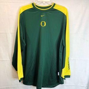 Nike Univ. of Oregon Dri Fit long sleeve shirt -M